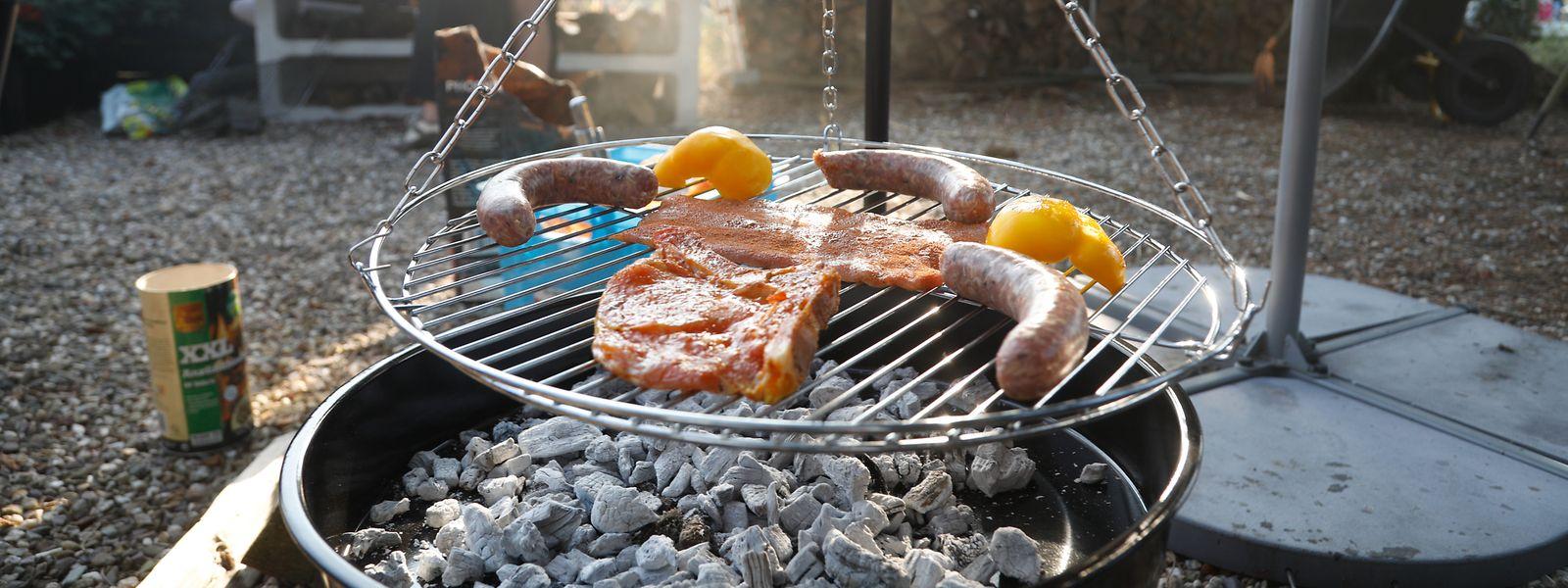 Beim Wettbewerb muss die Hauptkomponente auf dem Grill zubereitet werden.