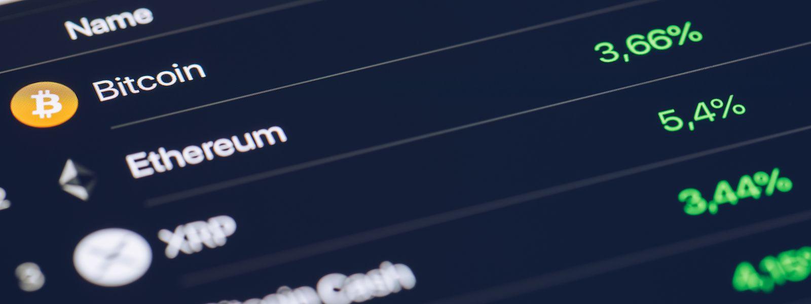Kryptowährungen wie Bitcoin oder Ethereum rücken in den Mainstream.