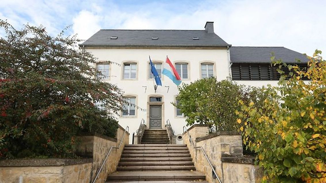 La mairie de Tuntange