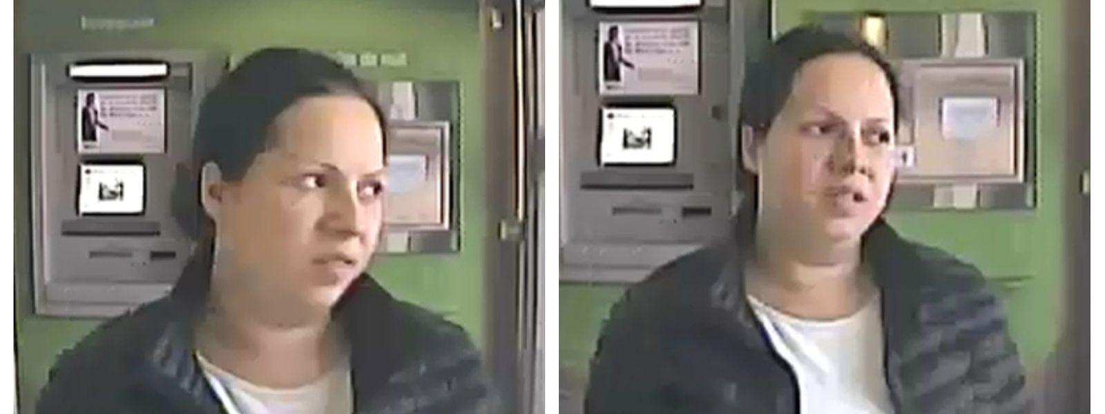 Fotos von der Überwachungskamera einer Bank in der Avenue de la Liberté.