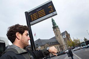 Reportage Mobiliteits-App,Handy,App,Mobiliteit. Foto:Gerry Huberty