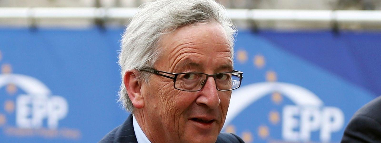 Jean-Claude Juncker à Bruxelles, mardi 27 mai