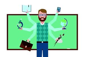 Schule  Lehrer Tafel Unterricht (Foto: Shutterstock)