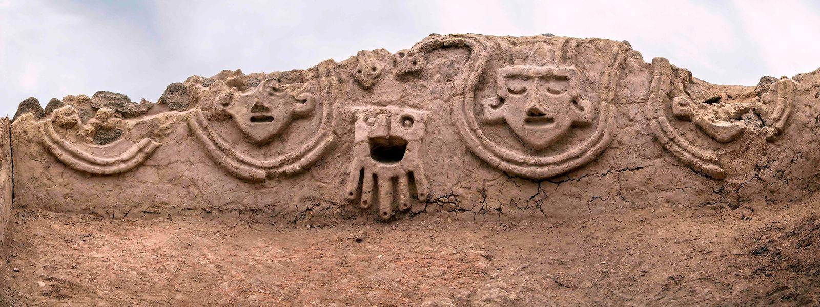 Das Relief ist etwa 3800 Jahre alt.