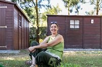 Quinta do Cavalo Kiron, centro terapeutico em Sintra, Lisboa, de Nathalie Durel.
