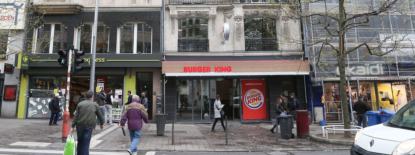 Der neue Burger King am Bahnhof