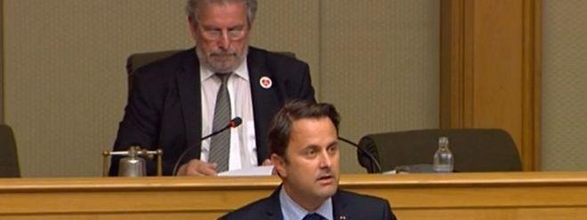 """Premier Bettel sieht Hass und Terrorismus als """"traurige Realität"""" an."""