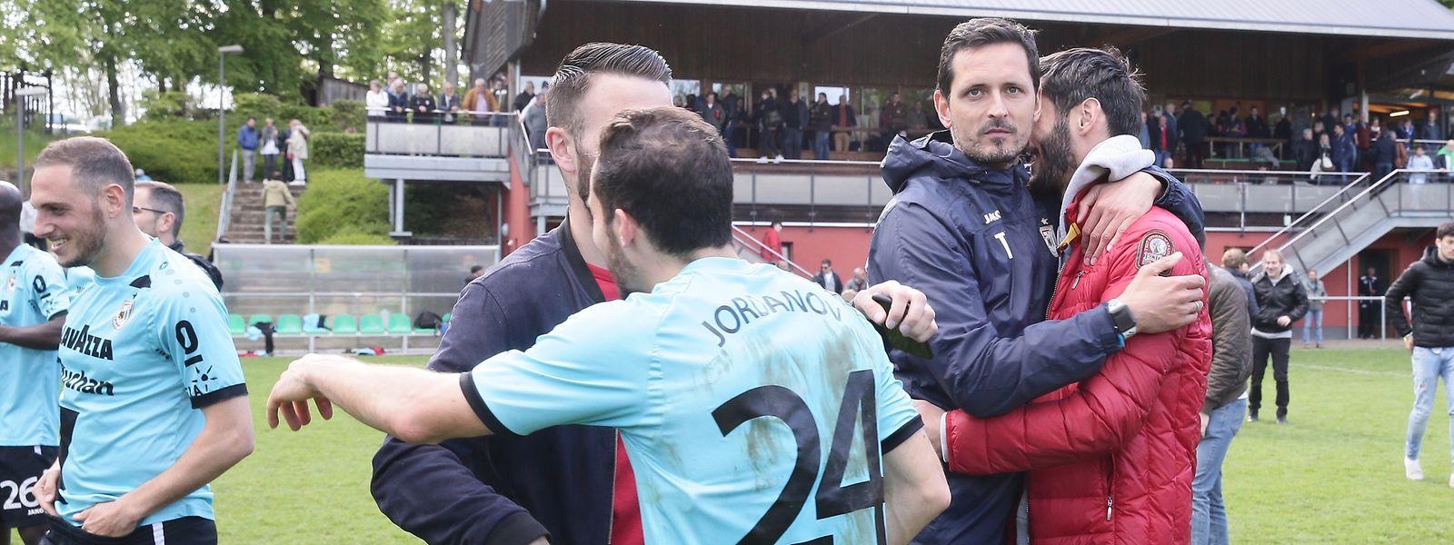 Les Dudelangeois de Dino Toppmöller peuvent désormais se pencher sur la préparation de la finale de la Coupe de Luxembourg.