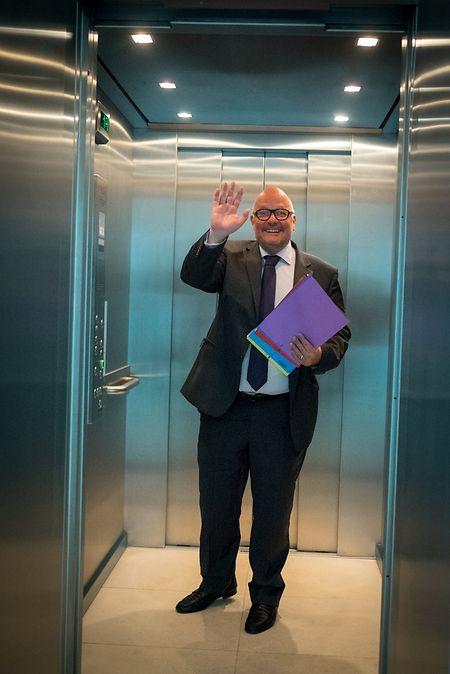 Marc Angel: «Oui, bien sûr que je suis prêt à devenir député européen. Nicolas Schmit et moi, nous nous sommes engagés à ne pas disparaître à Bruxelles mais de ramener Bruxelles à Luxembourg».