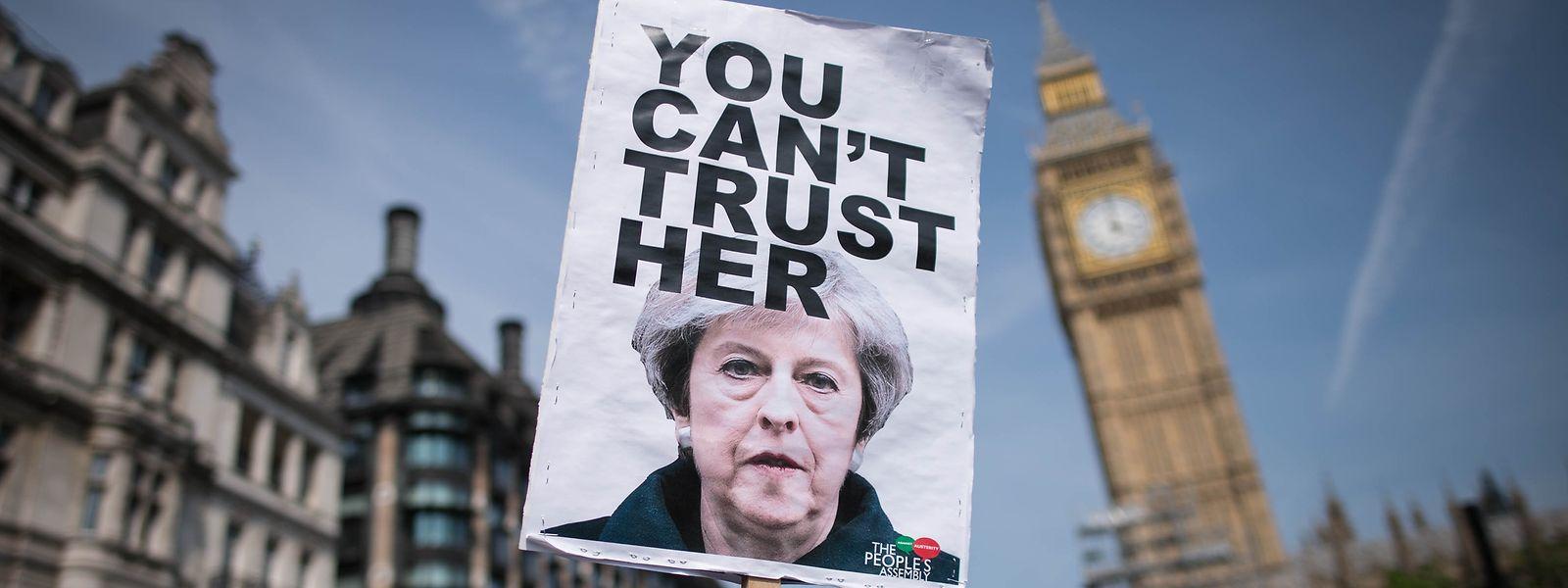 Theresa May hatte eine beispiellose und besonders tiefe künftige Partnerschaft vorgeschlagen, die für einzelne Branchen faktisch weiter Zugang zum EU-Binnenmarkt bedeuten würde.