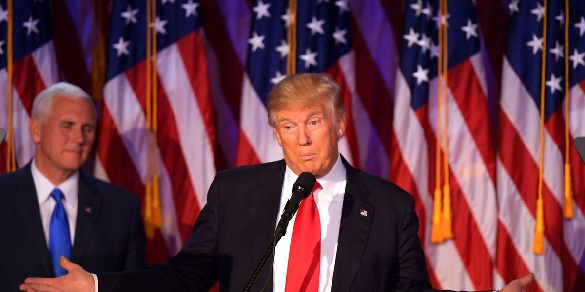 Le président Donald Trump veut privilégier des partenariats au lieu de s'engager dans des conflits