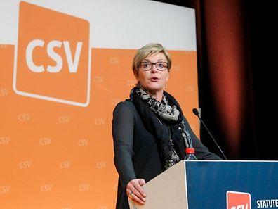 Martine Hansen wurde neben drei anderen CSV-Politikern vom Nationalvorstand als mögliche Spitzenkandidatin vorgeschlagen.