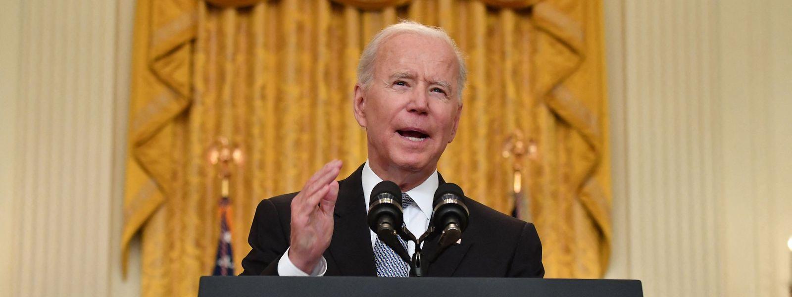 US-Präsident Joe Biden hatte das Treffen im April vorgeschlagen.