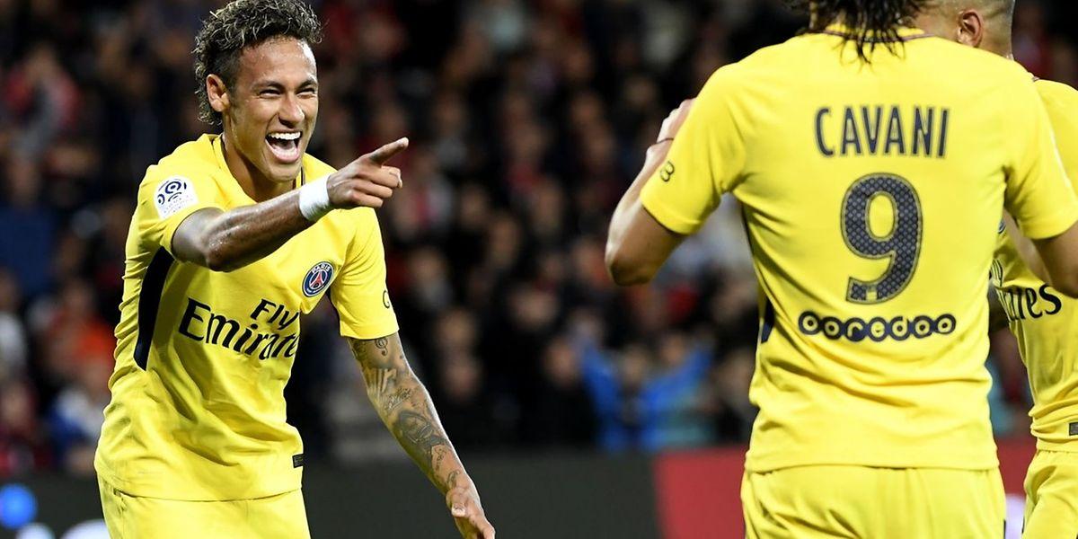 Neymar a brillé dès son premier match avec le PSG.