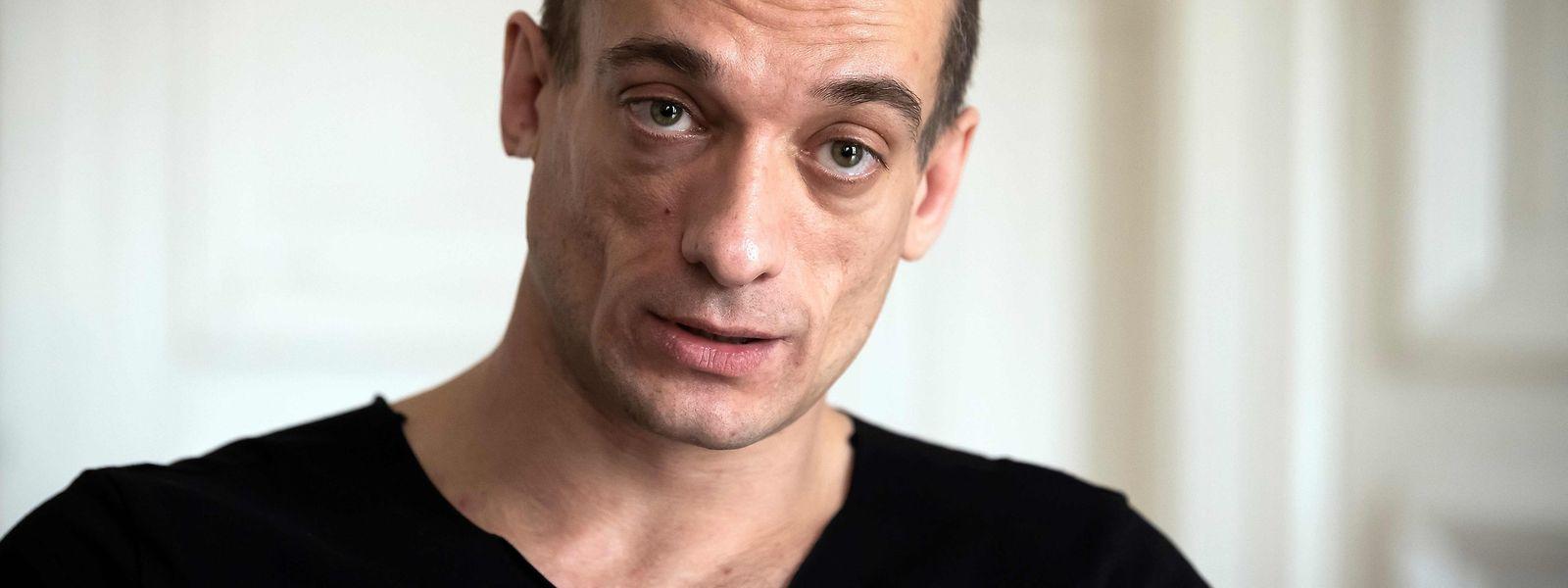 Der Aktionskünstler aus Russland Pjotr Pawlenski will Politiker für ihre Heuchelei bestrafen.