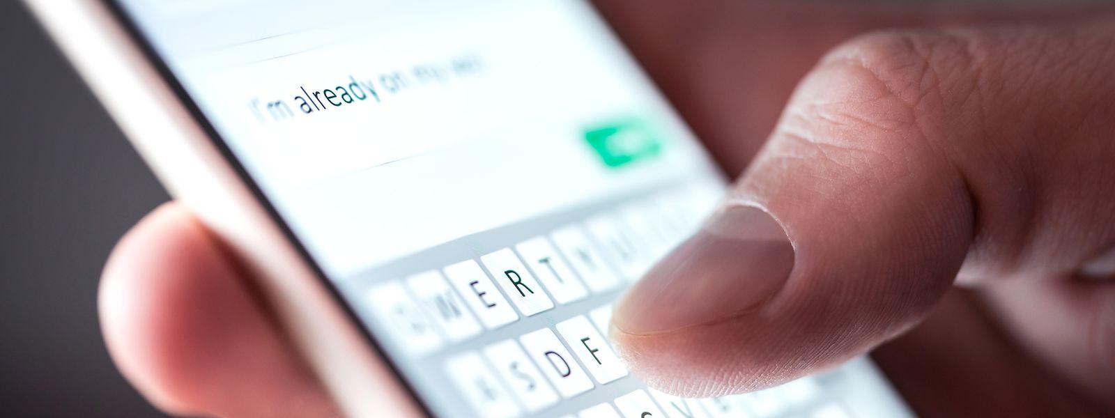 Über die Postnetze wurden am 31. Dezember und am 1. Januar 1,11 Millionen SMS-Nachrichten versendet.