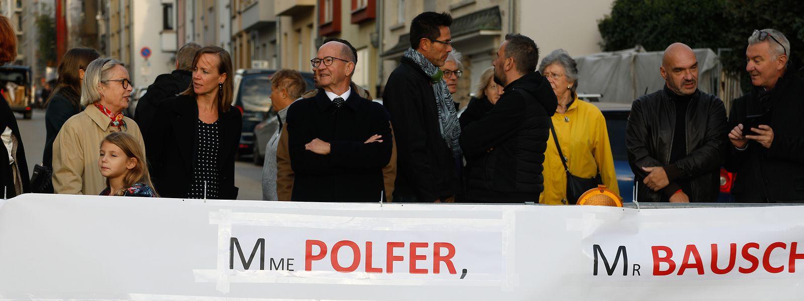Après une réunion au mois de septembre, les habitants du quartier de la gare et de la rue de Strasbourg sont descendus dans la rue pour être entendus par les élus.