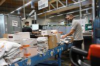 online.fr, Post, Sortierstelle Post, Briefverteilzentrum  Foto: Anouk Antony/Luxemburger Wort
