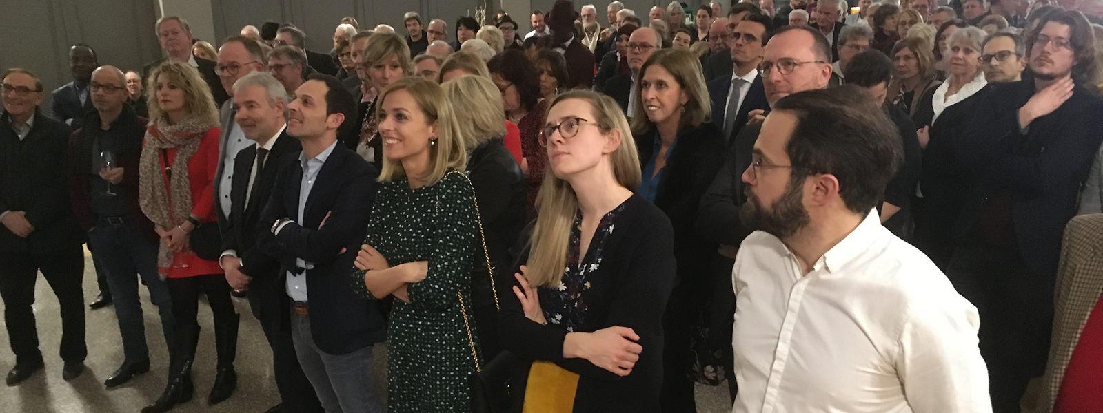 Le LSAP a été le dernier des grands partis à organiser sa cérémonie des vœux, mercredi soir.