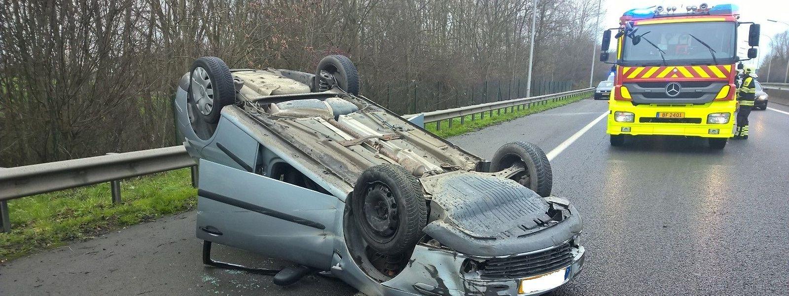 Impressionnant, l'accident a dû provoquer une belle peur pour les deux conductrices.