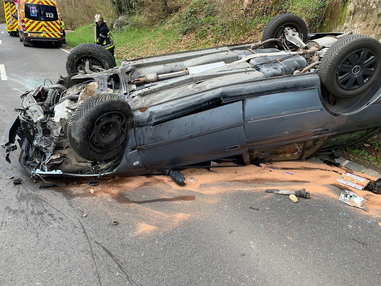 Der Unfall ereignete sich zwischen Blumenthal und Breidweiler Breck.