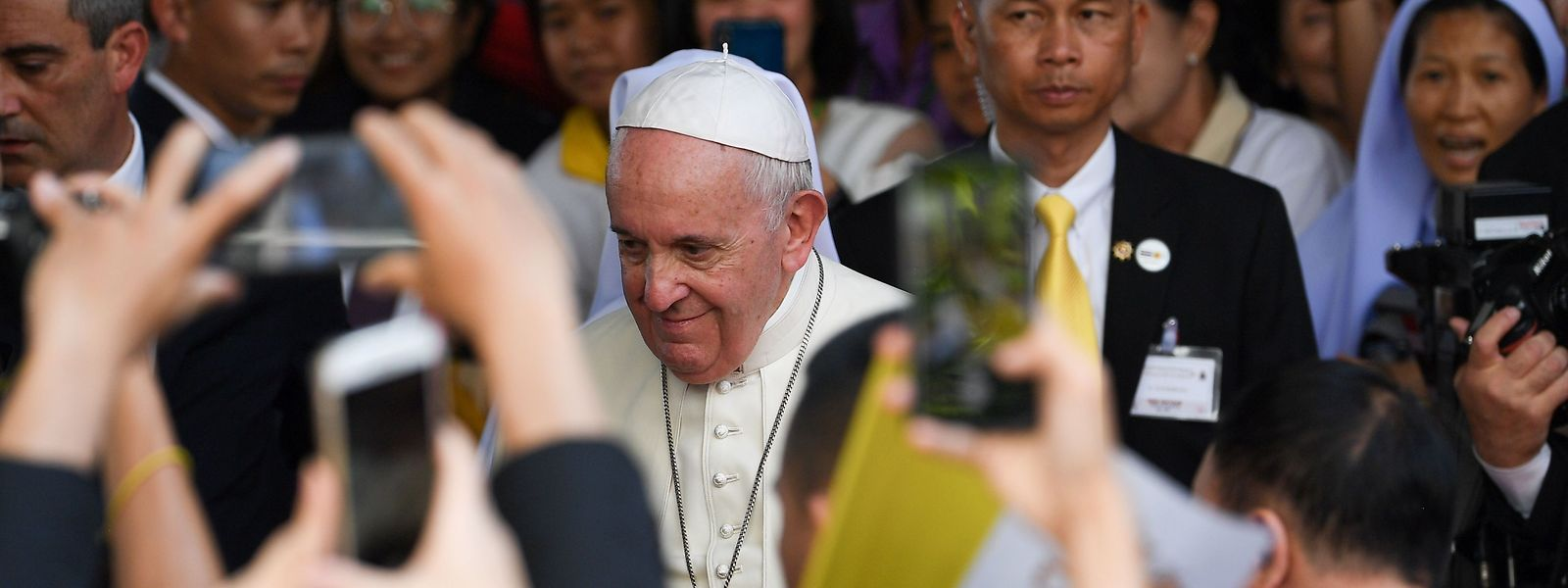 Papst Franziskus in Bangkok.