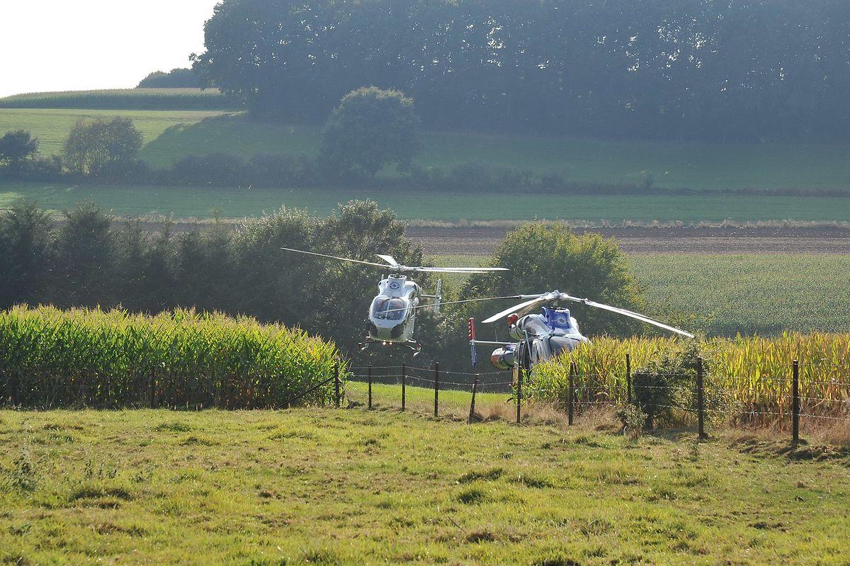 Deux hélicoptères de Luxembourg Air Rescue ont été mobilisés