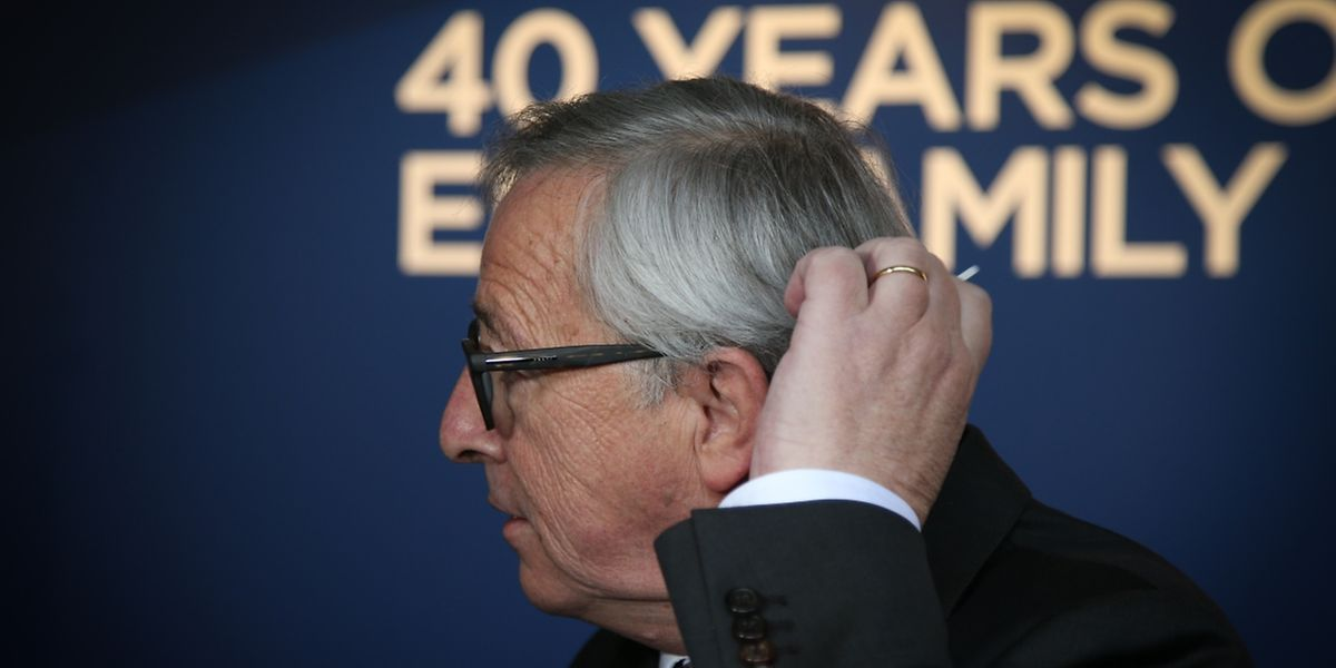 Jean-Claude Juncker de retour au Kirchberg pour le 40e anniversaire du Parti Populaire Européen.