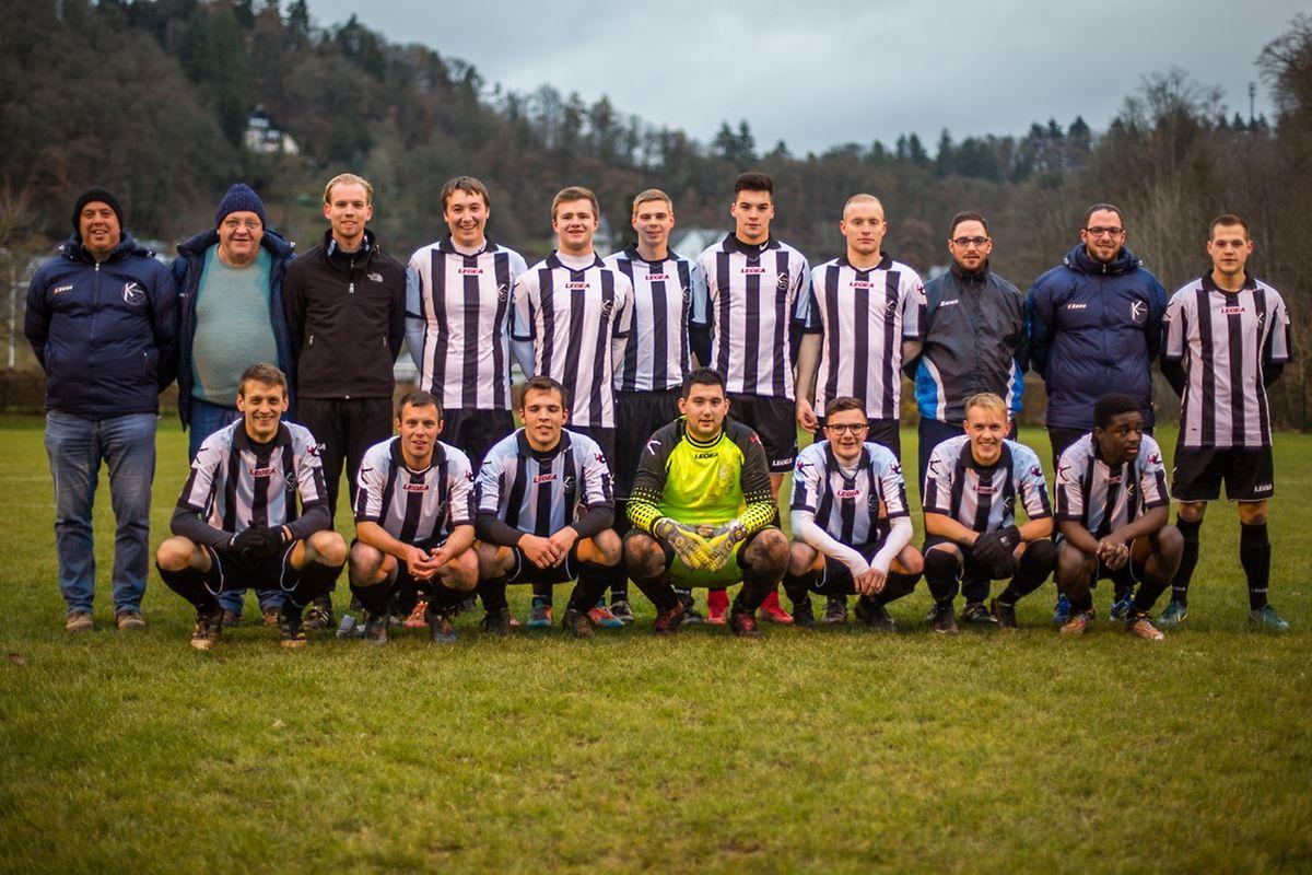 La formation du FC Kiischpelt Wilwerwiltz