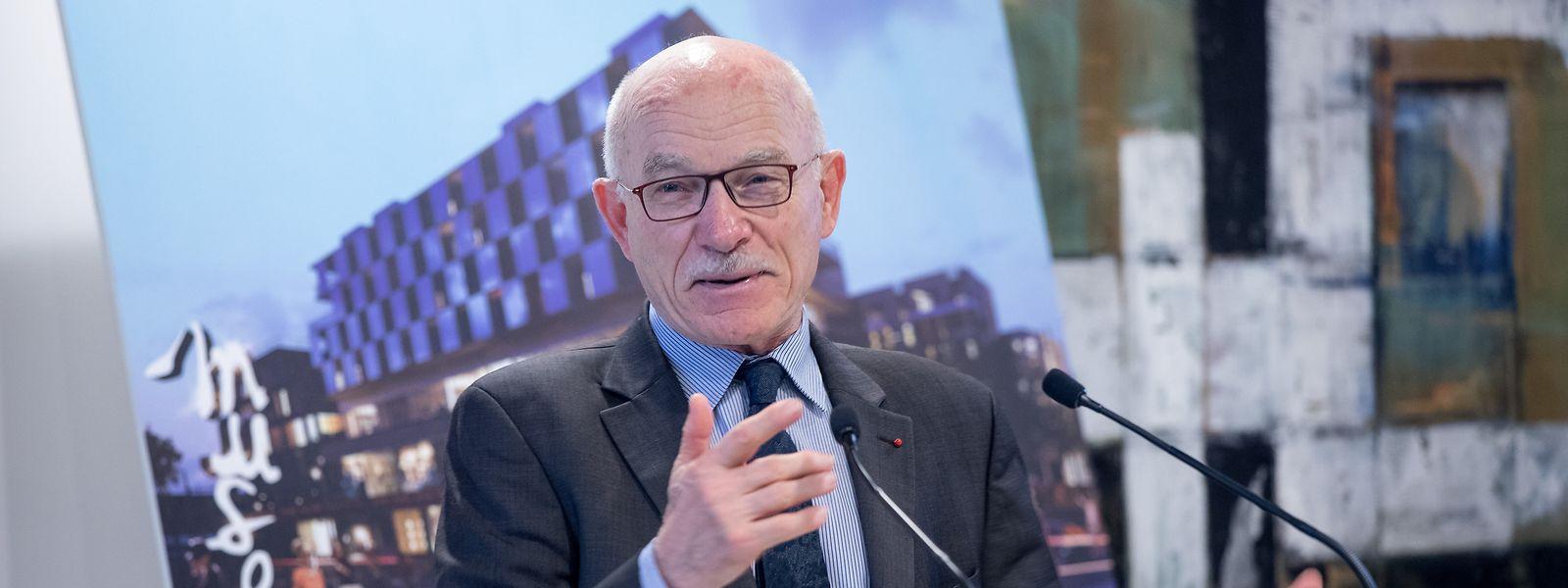Dominique Gros, maire de Metz