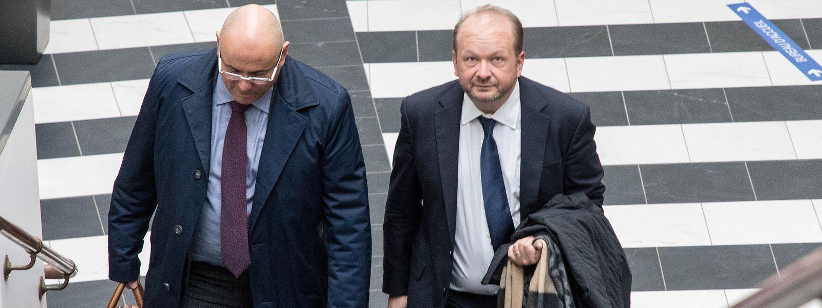 Frank Schneider, ici juste avant le procès du SREL en octobre 2020, restera en prison en France au moins jusqu'au 23 septembre prochain, date prévue de la prochaine audience auprès de la cour d'appel de Nancy.