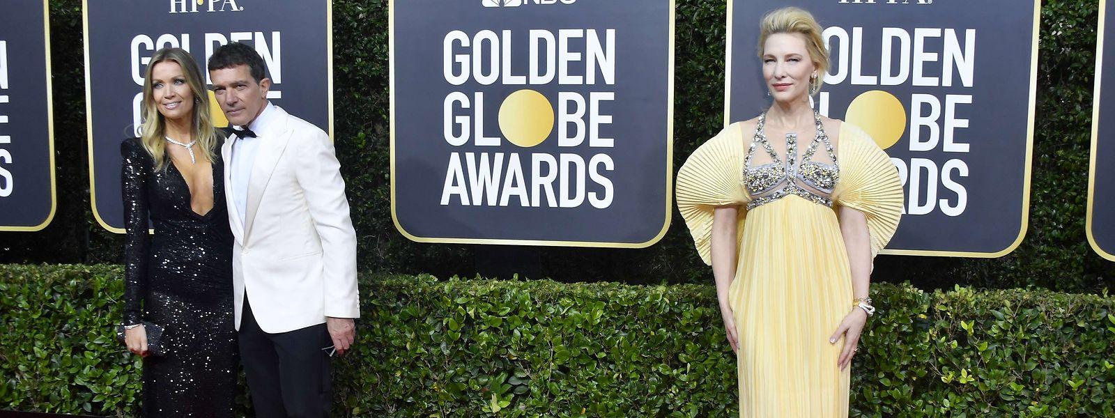 Stars am laufenden Band auf dem Red Carpet: Nicole Kimpel und Antonio Banderas - daneben Cate Blanchett.