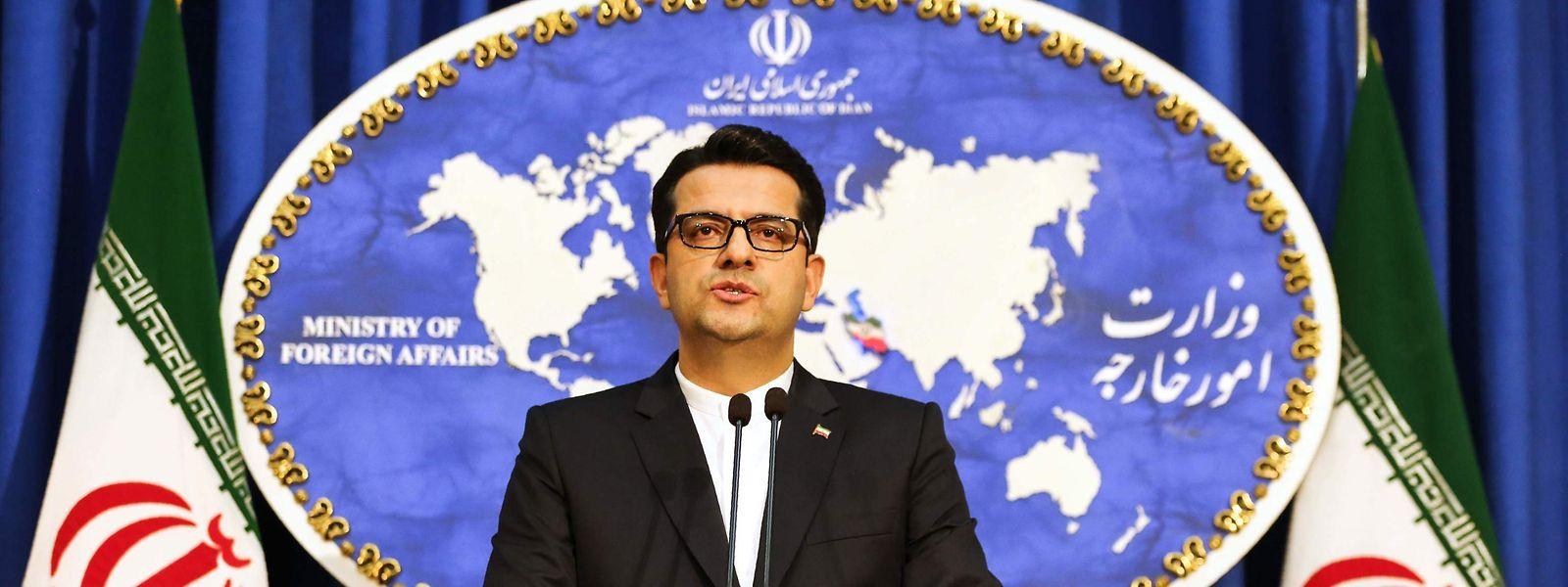 Der iranische Außenamtssprecher Abbas Mussawi.