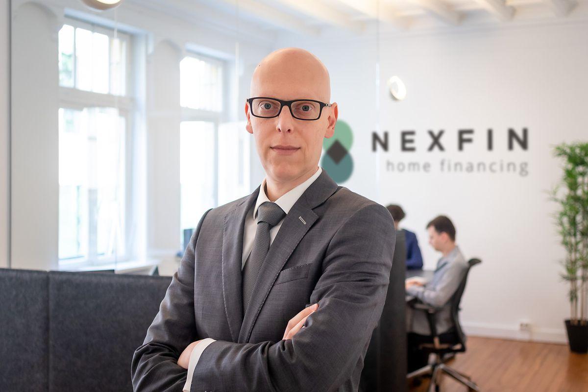 Vincent Quillé, le fondateur et dirigeant de Nexfin compte avec le site acquérir quelque 300 clients d'ici trois ans.