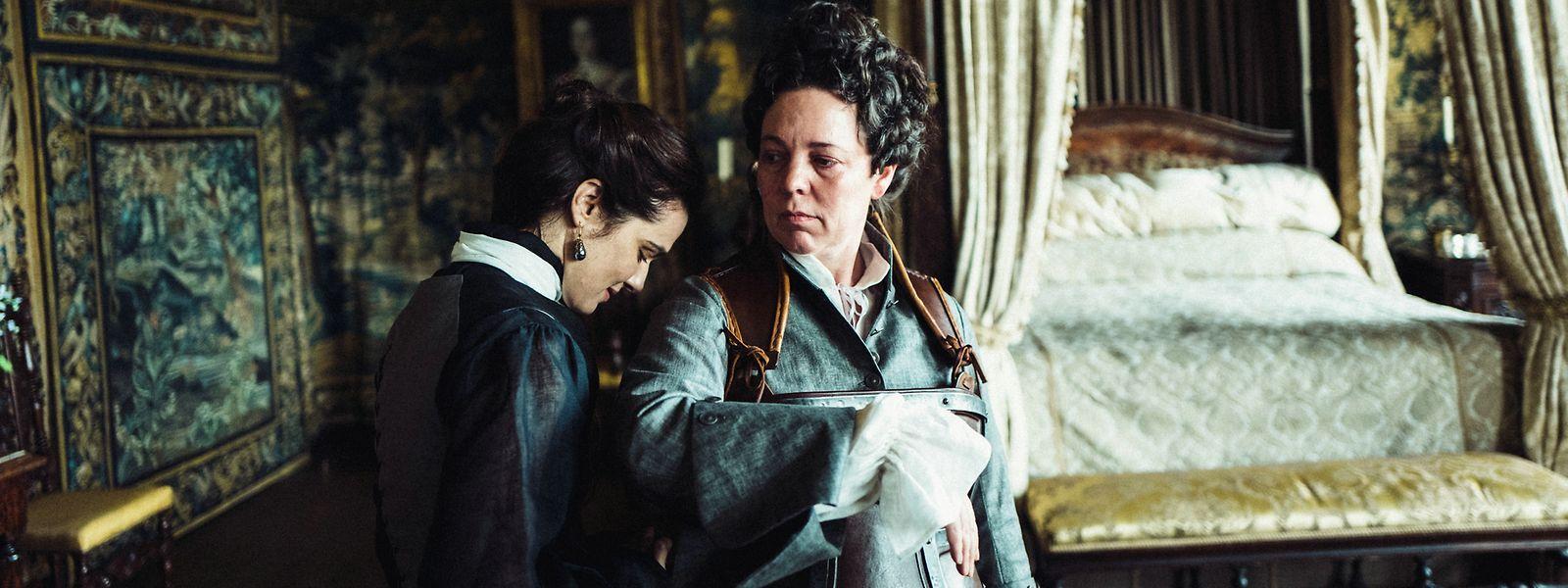 """Der Oscar-nominierte Film """"The Favourite - Intrigen und Irrsinn"""" ist seit 9. Januar in den luxemburgischen Kinos zu sehen."""