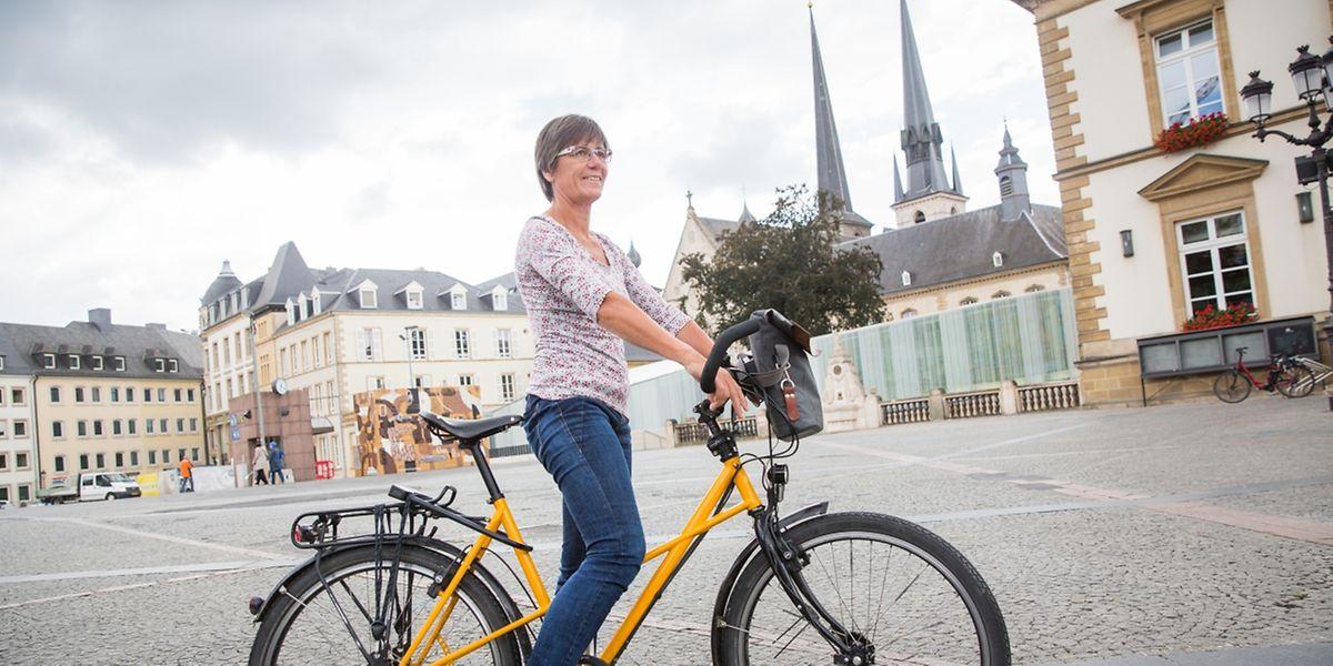 """Monique Goldschmit:  """"Eine fahrradfreundliche Stadt bringt mehr Lebensqualität sowie ökologische und ökonomische Vorteile."""""""