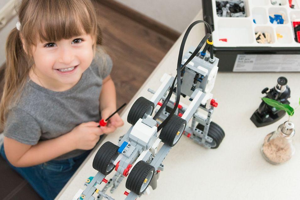 Les Mindstorms sont des Lego intelligents qui se programment sous Linux