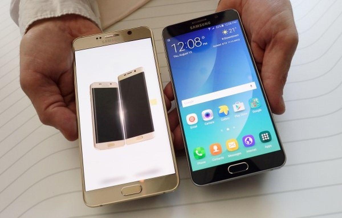 Das neue Galaxy Note 5.