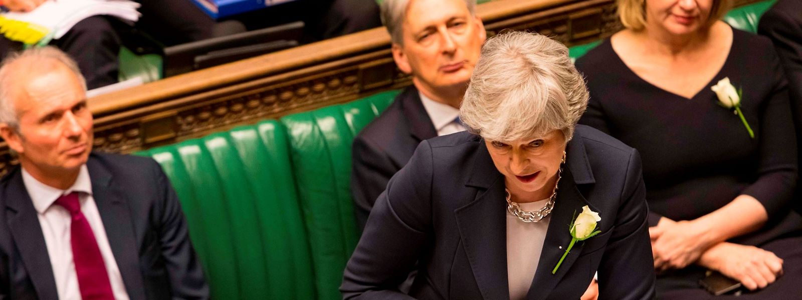 Dans «la semaine du 3 juin» Theresa May présentera au Parlement britannique un projet de loi sur l'accord de Brexit.