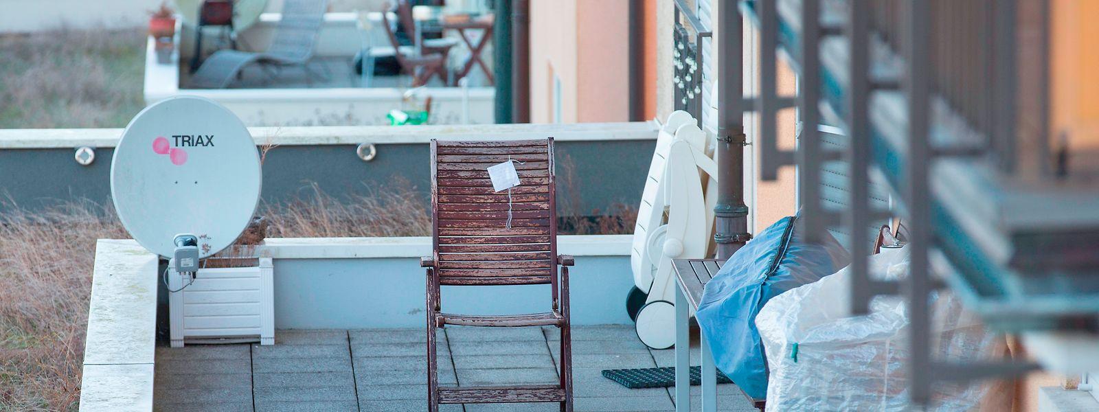 In diesem Stuhl saß die damals 46-jährige Frau, als sie von der Kugel getroffen wurde.