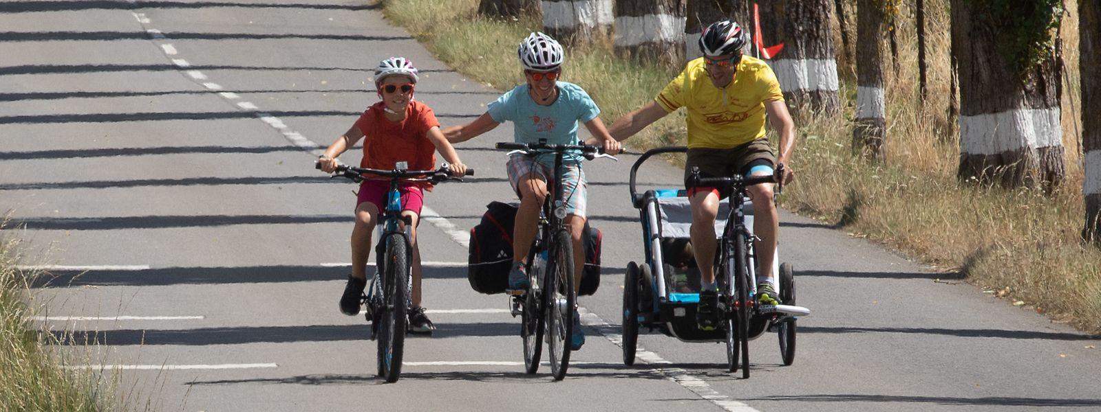 Le tronçon entre Alzingen et Syren a accueilli plus de 5.820 cyclistes durant l'été dernier.