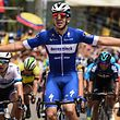 Alvaro Hodeg avait échoué au Tour San Juan. Devant son public, le Colombien s'est montré le plus fort au sprint.