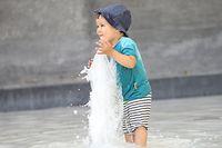 Lokales, Hitzewelle, Hitze,Temparuren bis über 40 Grad, Luxemburg Zentrum, Foto: Guy Wolff/Luxemburger Wort