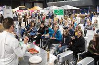 "Pano , Luxexpo The Box , Salon des Douceurs ,Backkrusus mit Yves Jehanne ,von der Vereinigung  "" Les Sucrés du Lux""  Foto: Guy Jallay/Luxemburger Wort"