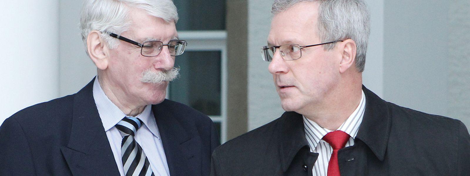 Zenners und Stebens standen sich am 13. November 2013 gegenüber.