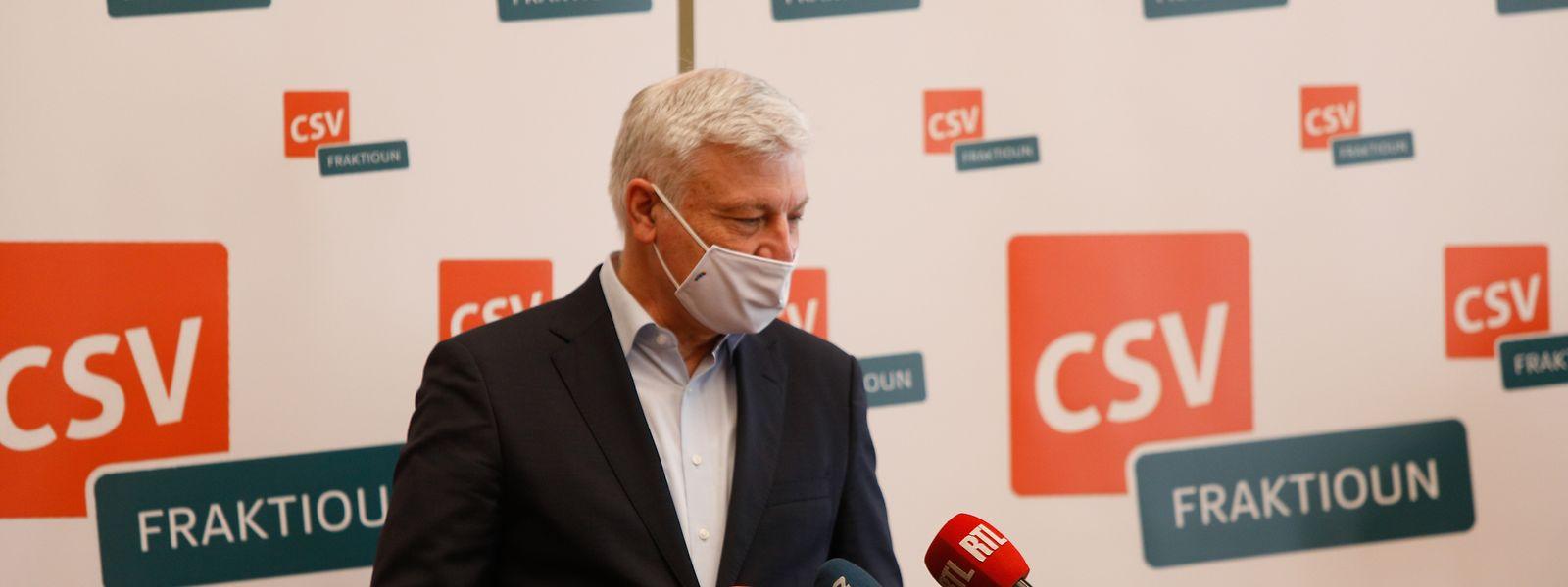 Claude Wiseler soll es als Präsiident richten - und die Partei auf den richtigen Weg bringen.