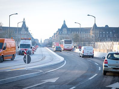 Luxembourg's Pont Adolphe is open to traffic again