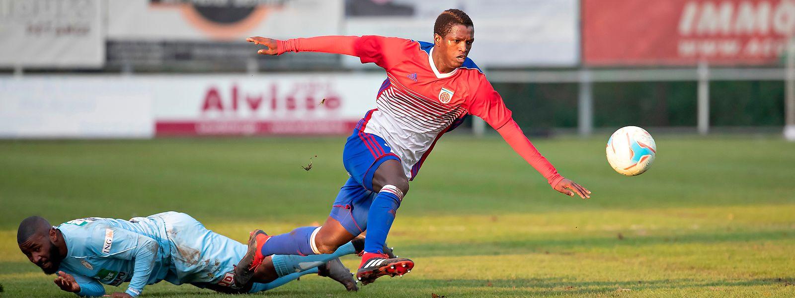 Moussa Seydi a inscrit ses 12e et 13e buts en championnat face à Muhlenbach.