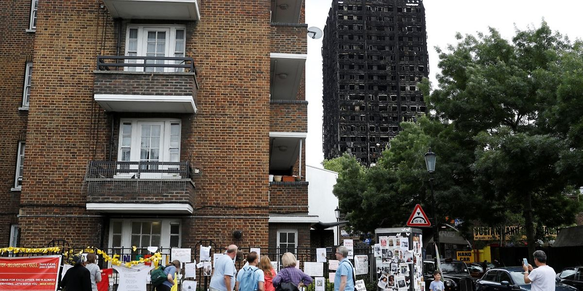 Der Schock nach der Katastrophe im Grenfell Tower sitzt tief - Sicherheitsinspektionen sollen eine ähnliche Katastrophe verhindern.