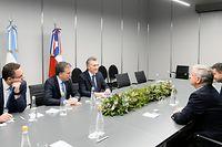 Während dem Treffen der G20-Finanzminister.